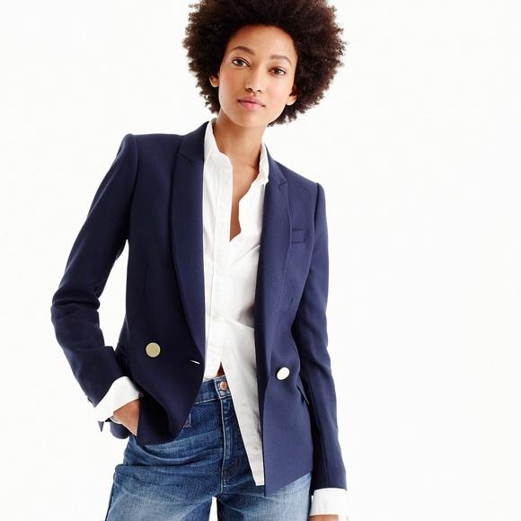 NWT. J. Crew blazer in Italian wool